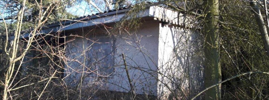 Das verlassene Häuschen auf dem Lerchenberg