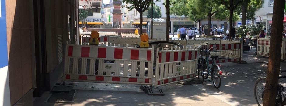 Bauarbeiten am Neubrunnenplatz dauern länger als geplant