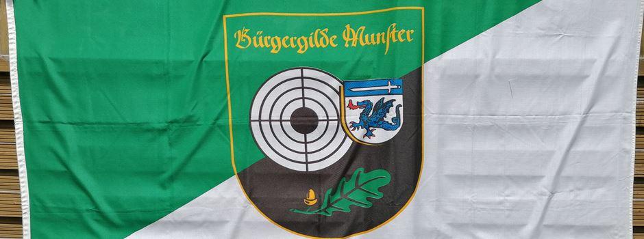 Bürgergilde zeigt Flagge