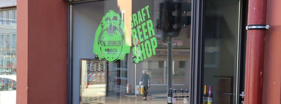 Das Drunken Monkey eröffnet Craft Beer Shop