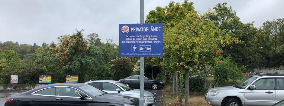 Verwirrung um Park and Ride-Parkplätze an Mainzer Straße