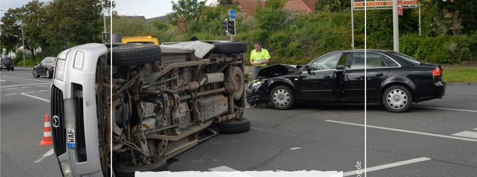 B64: Unfall an der Sieweke Kreuzung