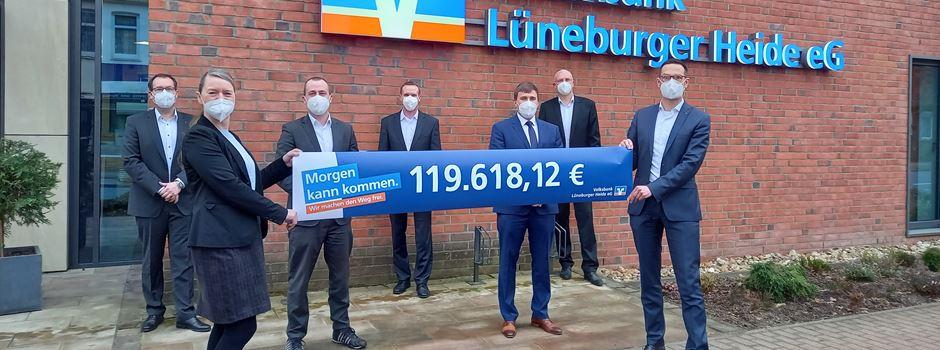 120.000 Euro für Vereine in der Region