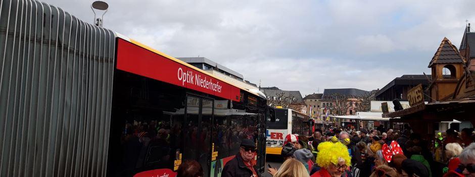 Das sagt die Mainzer Mobilität zum Bus-Chaos beim Guggemusik-Festival
