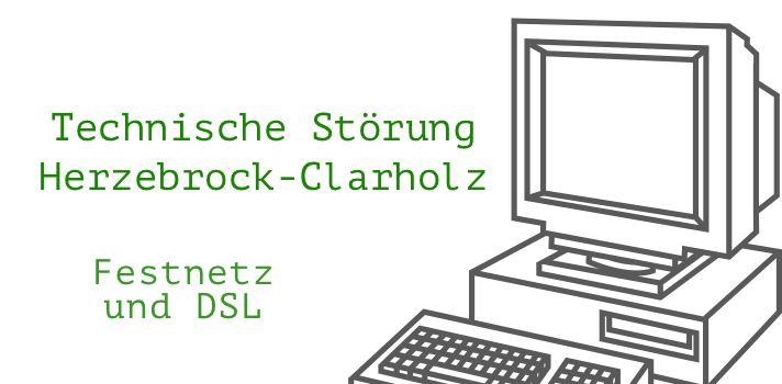 Technische Störung in Herzebrock-Clarholz