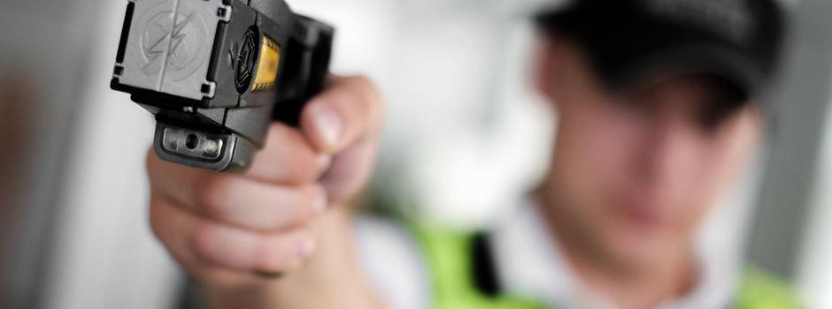 Braucht die Stadtpolizei Elektroschocker zur Verteidigung?