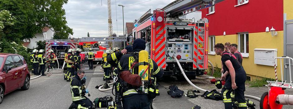 Neun Verletzte nach Wohnungsbrand