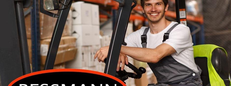 Stellenanzeige: Firma Bessmann sucht Allrounder/in Logistik mit Aussicht auf Führungsposition