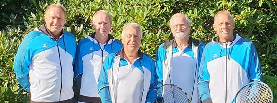 Das perlt: Bispinger Tennisherren ungeschlagen Tabellenerster
