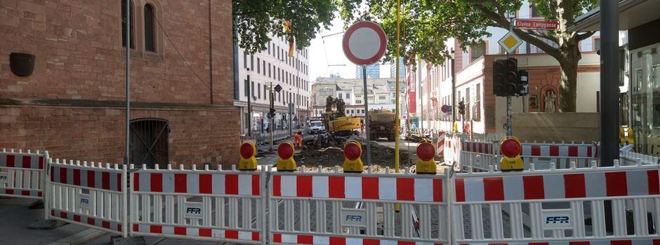Nach Bauarbeiten: Schillerstraße wird für Busse und Bahnen freigegeben