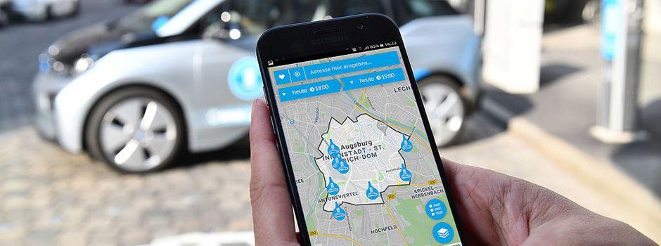 Carsharing ohne festen Parkplatz – jetzt in Augsburg