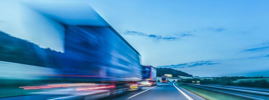 Lkw-Fahrer mit mehr als 3 Promille gestoppt