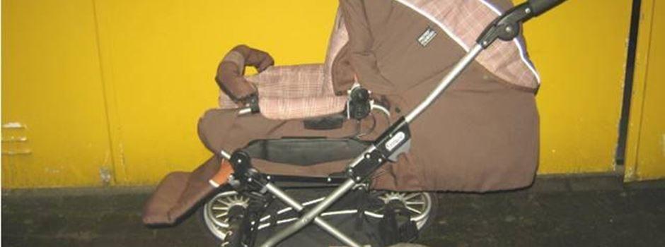 Mit einem präparierten Kinderwagen auf Diebestour - Wer hat Hinweise?