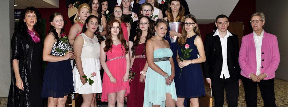 Abschlussklasse von-Zumbusch-Hauptschule Herzebrock 2016