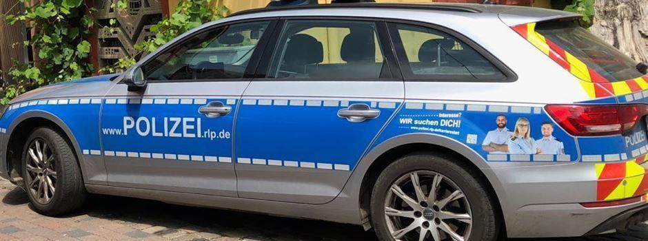 Verkehrsunfall mit Flucht und anschließender Sachbeschädigung an Streifenwagen