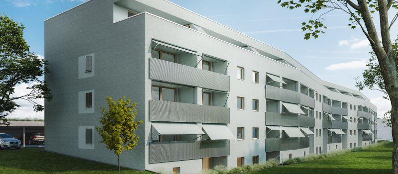 Bezahlbare Wohnungen in Wiesbadener Landstraße sind fertig