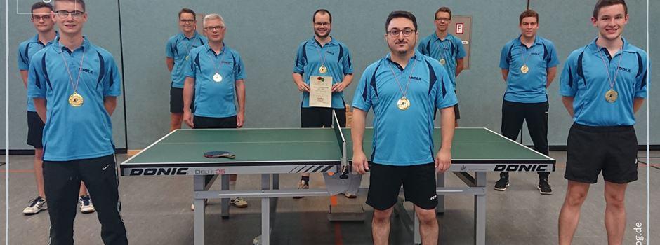 Tischtennisspieler feiern gleich zwei Meisterschaften