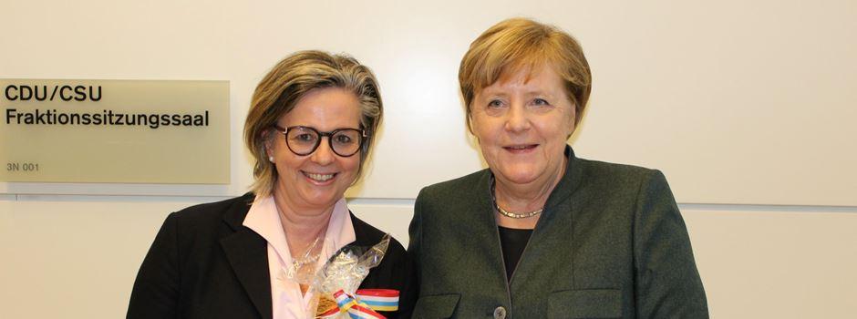 """""""Meenzer Moment"""" für Angela Merkel"""