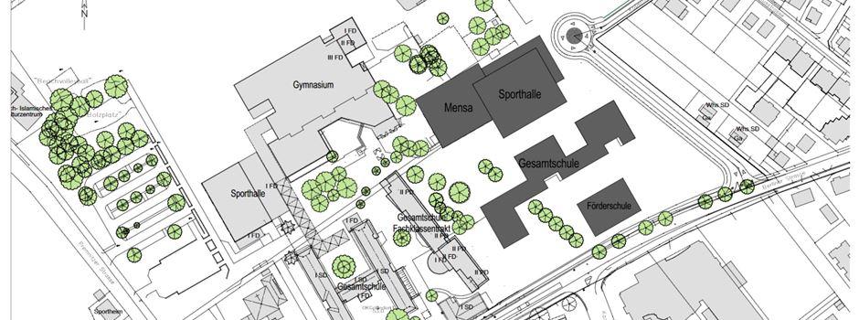 Update zur Erweiterung des Schulzentrums Nord