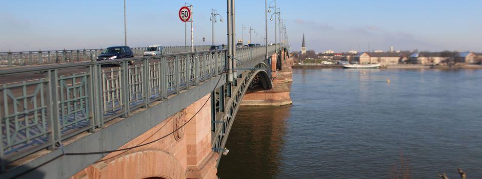 Theodor-Heuss-Brücke am Samstag voll gesperrt
