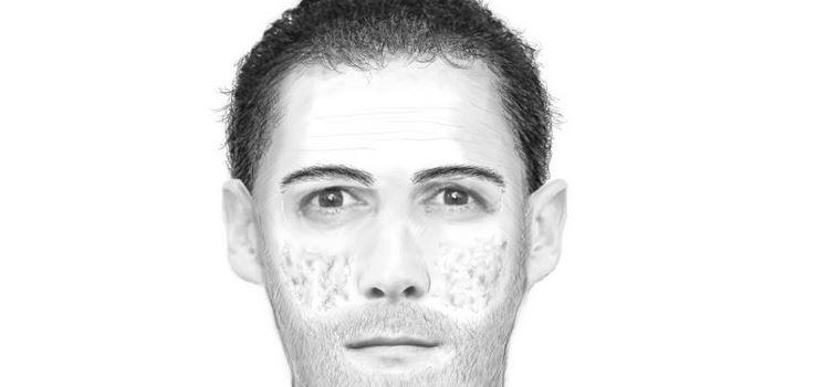 Nach Messer-Attacke: Polizei sucht mit Phantombild nach Täter