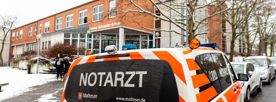 Reizgas-Alarm an Louise-Schroeder-Schule am letzten Tag des Schulhalbjahres