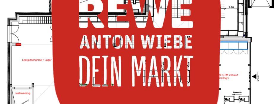 Anzeige: Neueröffnung Rewe Anton Wiebe Getränkemarkt