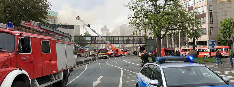 Brand in der Rheingoldhalle - ein Jahr danach