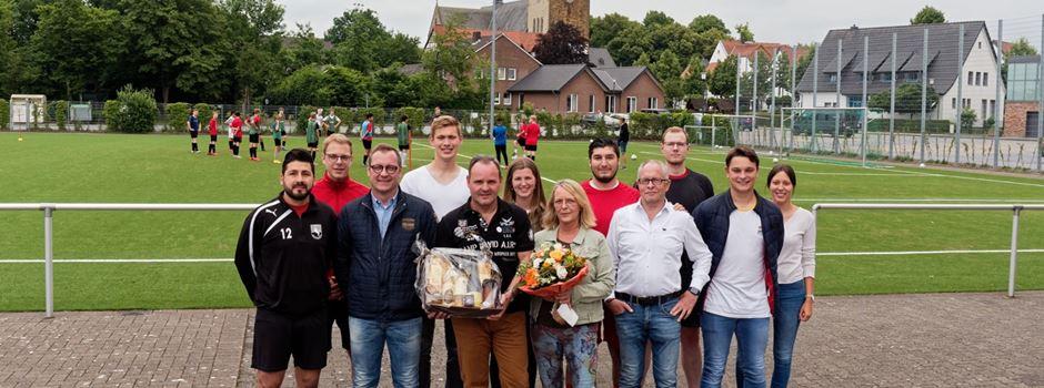 Herzebrocker Sportverein bedankt sich bei Thomas Ostermann