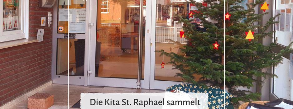 Die Kindertageseinrichtung St. Raphael sammelt für Clarholzer Familien