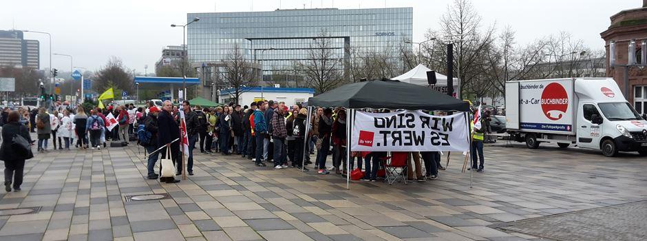 Verdi kündigt erneut Busstreik in Wiesbaden an