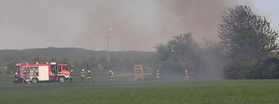 Brandstiftung in Uckendorf vermutet
