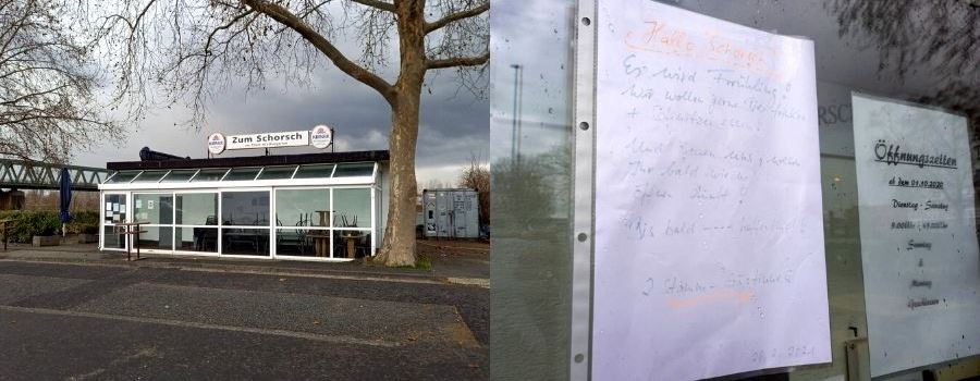 """Rührende Nachricht für Imbiss """"Zum Schorsch"""""""
