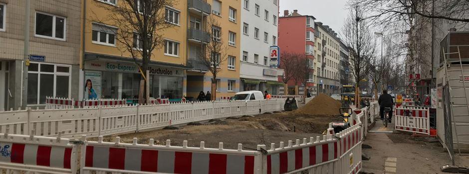 Ab Montag: Geänderte Verkehrsführung in der Boppstraße