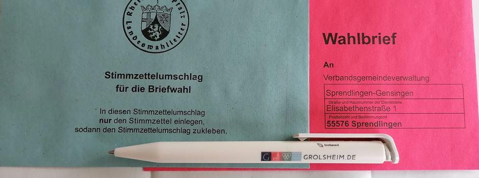 Landtagswahl 2021 - beantrage Briefwahl-