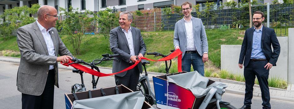 In Wiesbaden kann man jetzt E-Lastenräder ausleihen