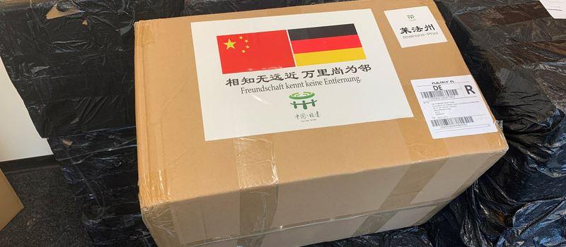 Chinesische Provinz liefert 15.000 Atemschutzmasken nach Rheinland-Pfalz