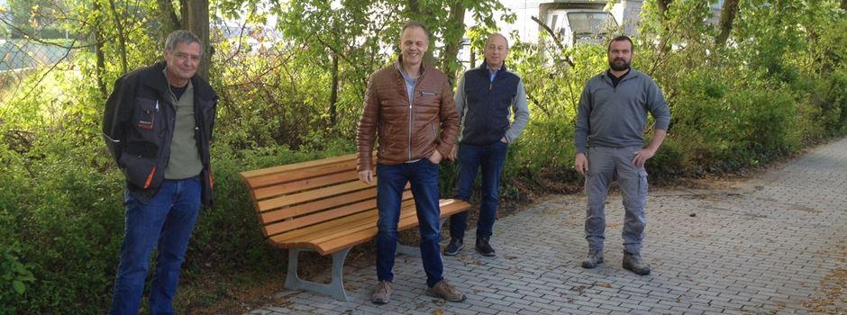 Gevrey-Chambertin Anlage in Nierstein mit neuem Pflaster