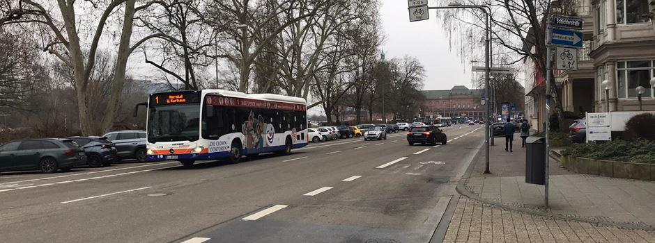 Warum in der Bahnhofstraße Parkplätze gesperrt wurden