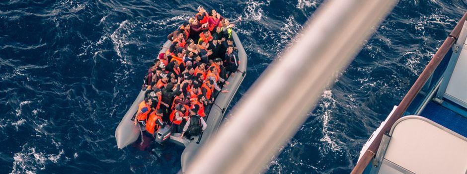 Warum die Stadt noch keine aus Seenot geretteten Menschen aufgenommen hat