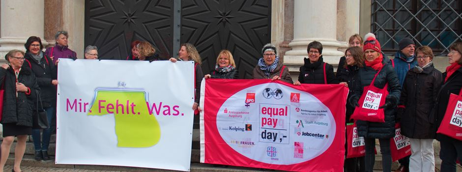 Equal Pay Day in Augsburg