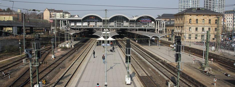 Zug im Mainzer Hauptbahnhof geräumt