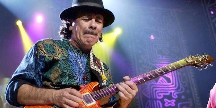 Carlos Santana im Fokus