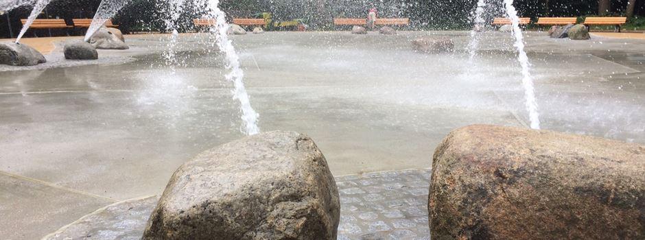 Wasserspielplatz Scheerwald nach zwei Jahren wieder geöffnet