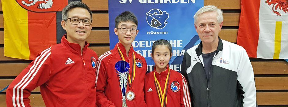 Bispinger Taekwondosportler holen bei der Deutschen Meisterschaft zwei Titel
