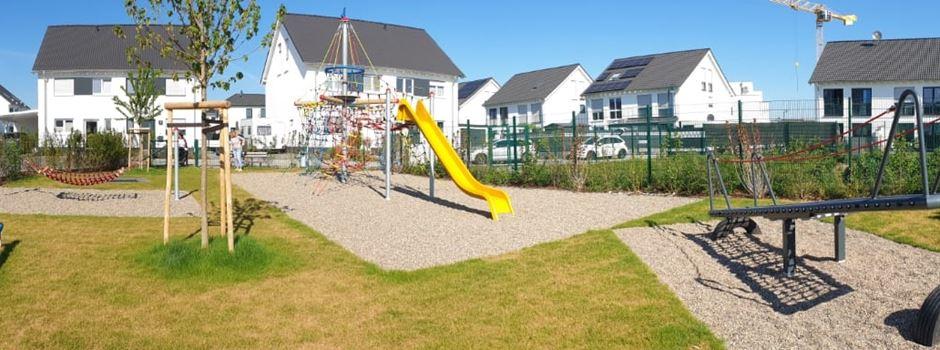 Neuer Spielplatz am Lavendelweg