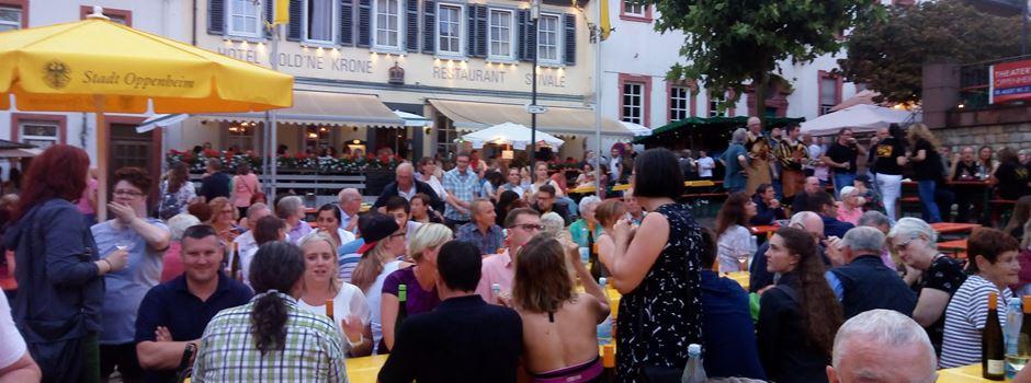 Oppenheimer Weinfest vom 9. bis 12. August 2019