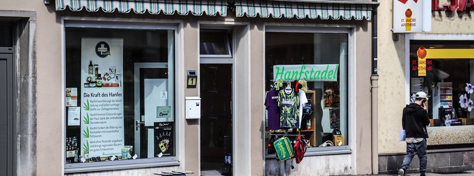 Hanfstadel – Laden für CBD-Produkte eröffnet neu in Augsburg