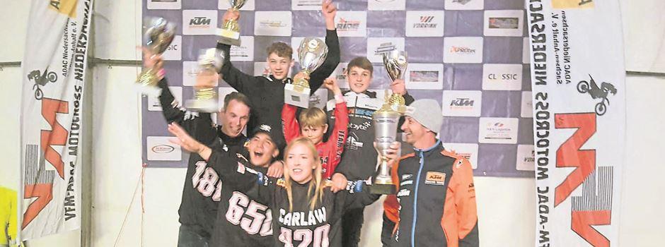 """Munsteraner Moto-Cross-Team sammelt """"Niedersachsen-Cup""""-Titel"""