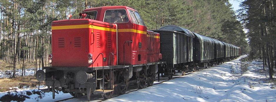 Der Nikolaus fährt Eisenbahn